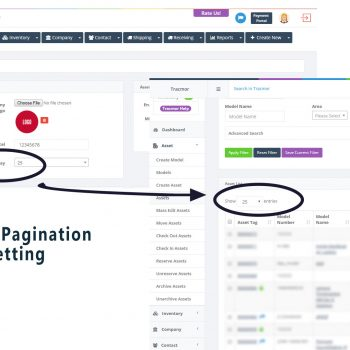 Default Pagination setting