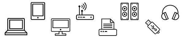 IT assets computers tablets cell phones speakers laptops memory cards desktops PCs USB sticks inventory 2021